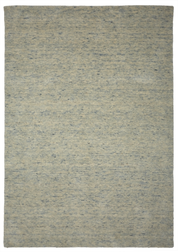 Skyblue (Light Blue) modern wool rug