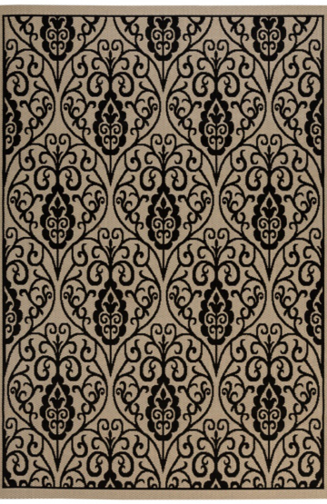 Casa 146 Black Outdoor Rug