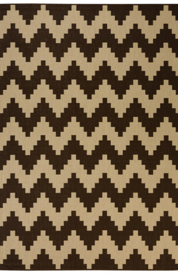Casa 286 Brown Outdoor Rug