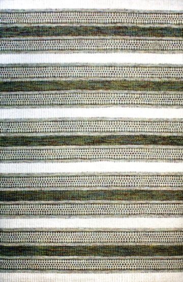 Modern Wool Rug Cheyenne Green