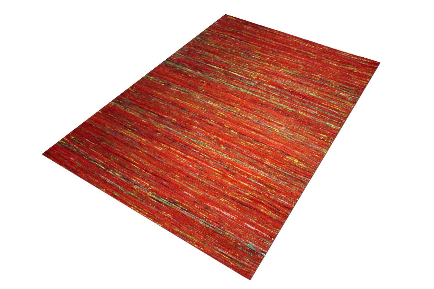 Chocho Red Flatweave Rug