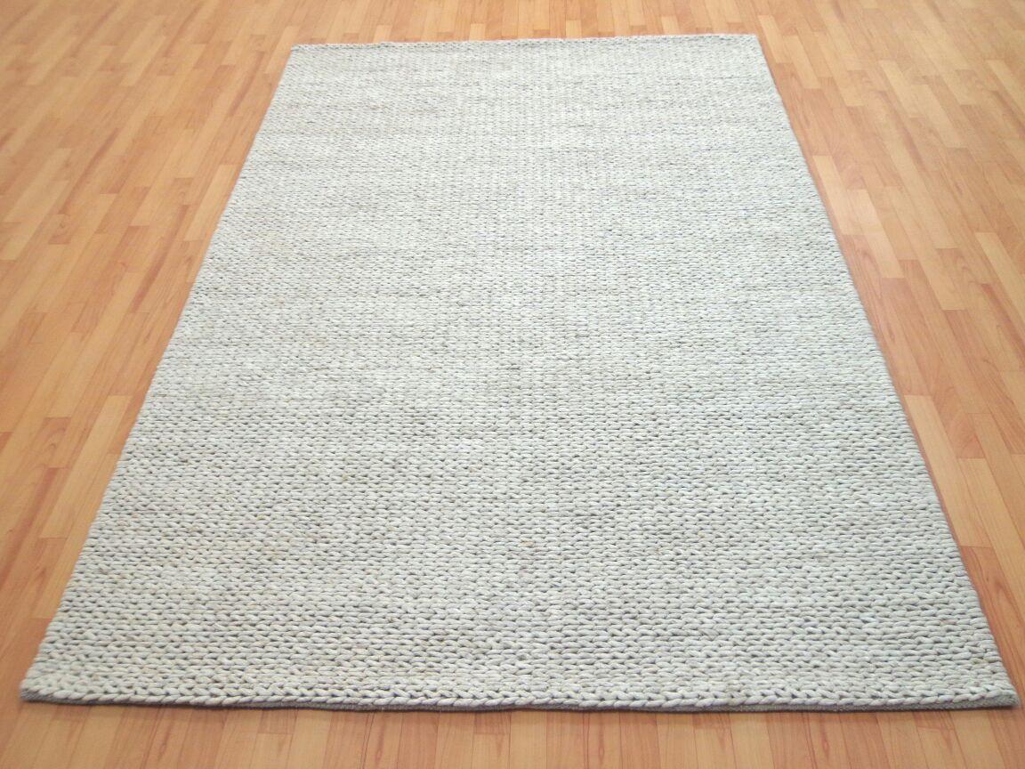 Frenze Sand Modern Wool Rug