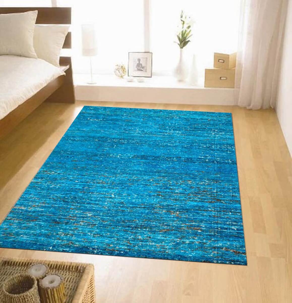 Madison Blue Modern Silk Rug