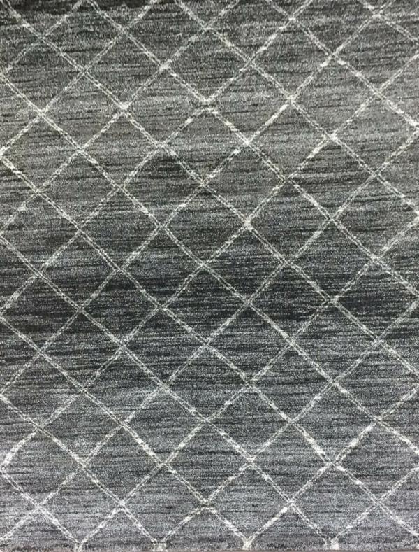 Gabbeh Moroccan Style rug Marrakesh 95 Charcoal