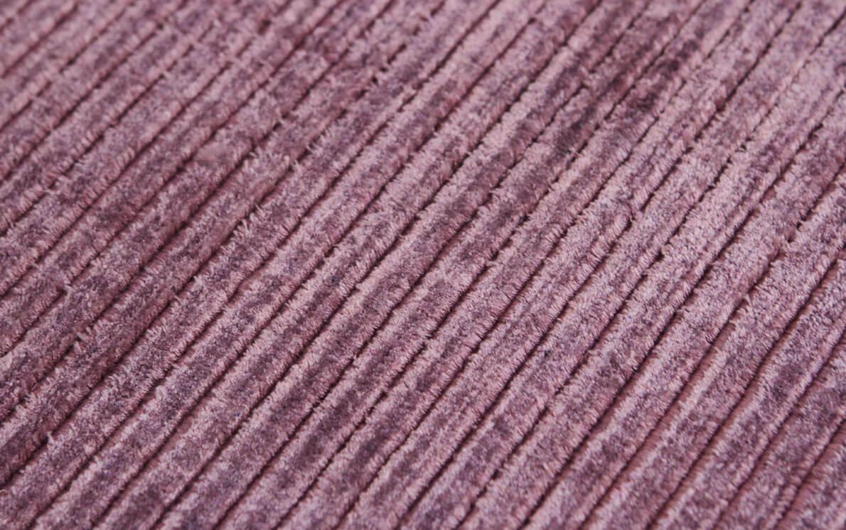 Ribbed Purple Modern Rug