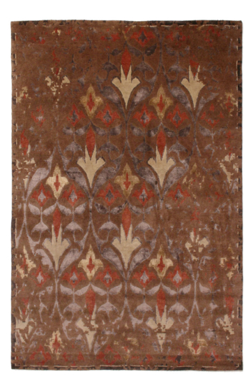 Rubikat 2815 Brown Modern Wool Rug
