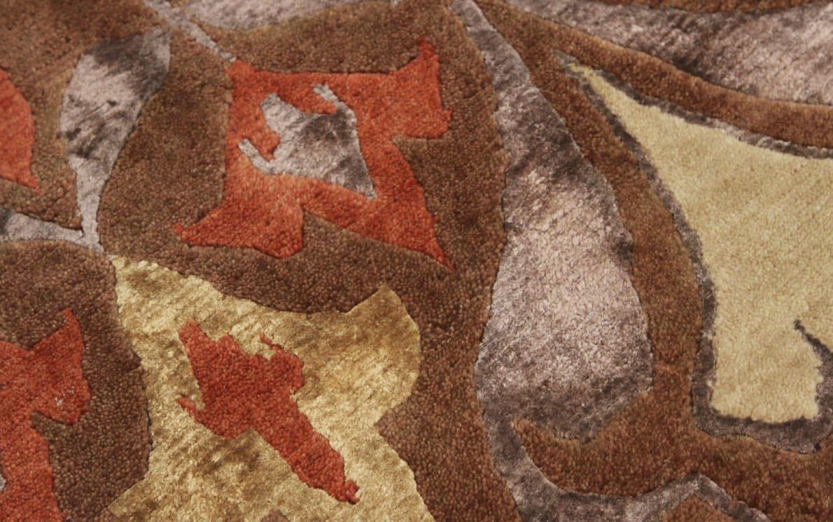 Rubikat 2815 Brown Modern Wool Rug
