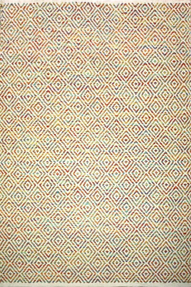 Modern Rug Squares Multi colour