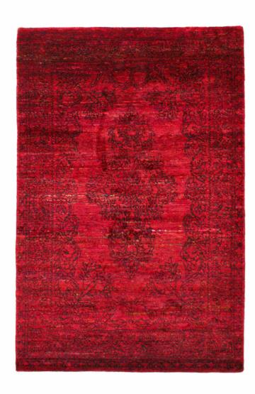 Versa 2268 Red Modern Silk Rug