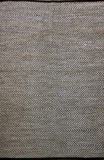 Ziggy Beige Modern Cotton Rug