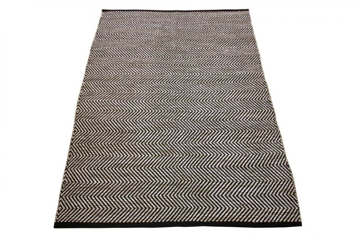 Ziggy Beige Modern Cotton Rug