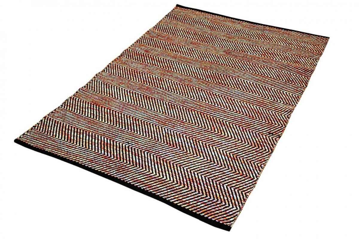 Ziggy Multi Modern Cotton Rug