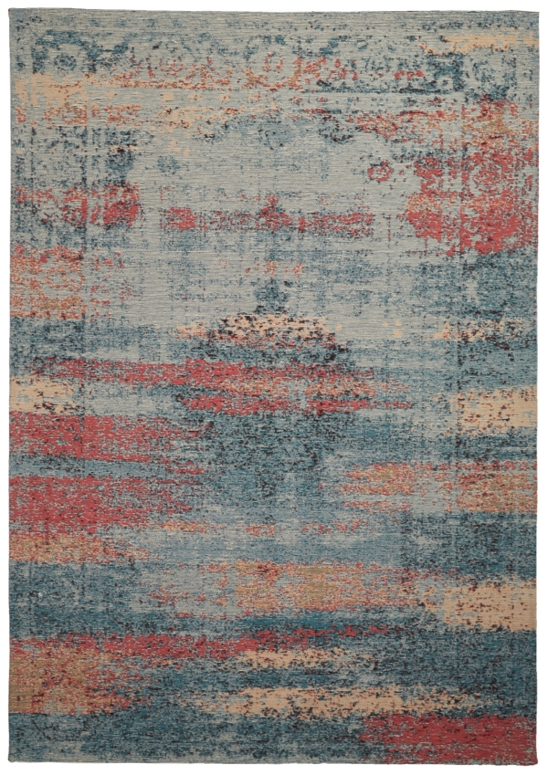 Multi Transitional syntheticl rug