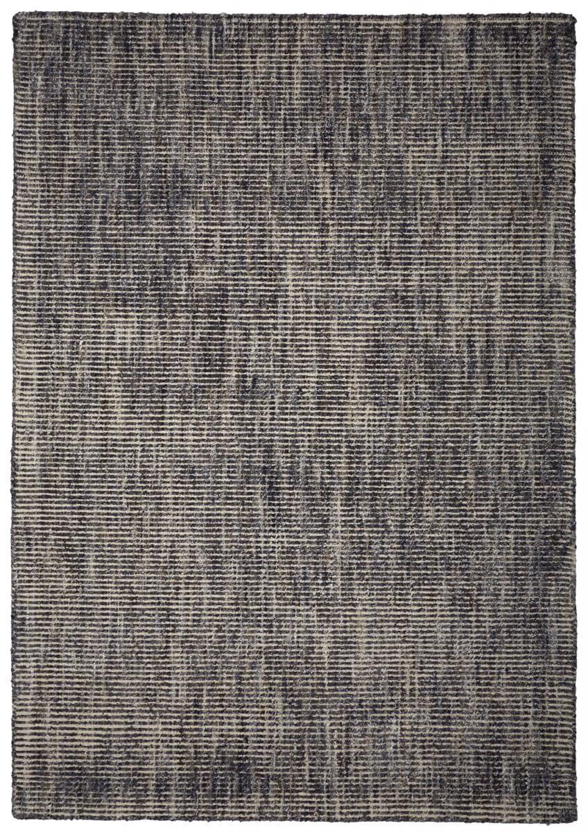 Indigo (Dark Blue) modern wool rug