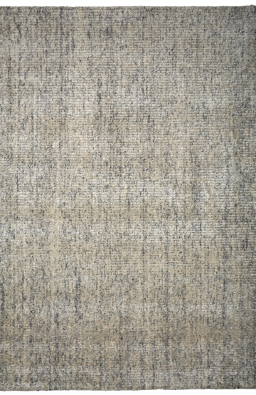 "Modern wool rug ""Carson"" in white colour"