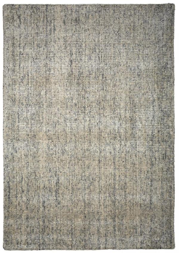 """Modern wool rug """"Carson"""" in white colour"""