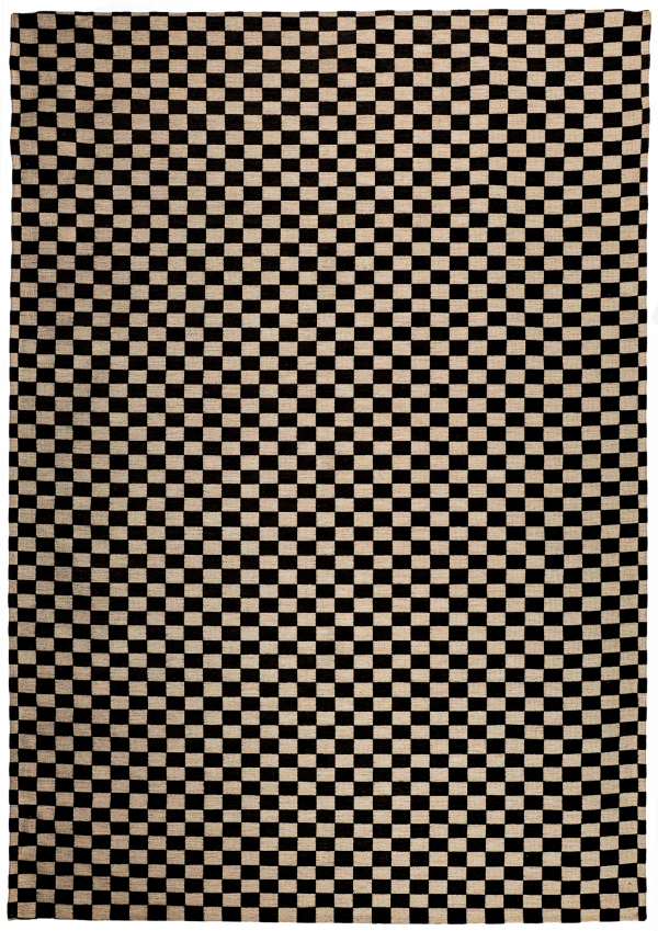 Beige modern synthetic rug