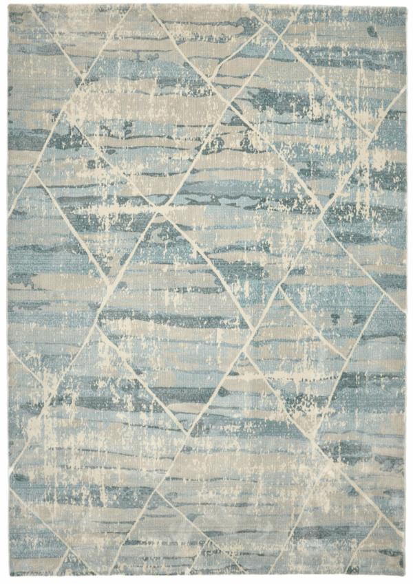 Light Blue modern rug