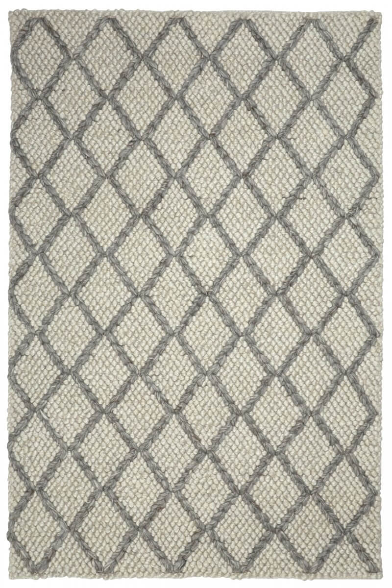 Sterling (Light Grey) modern wool rug