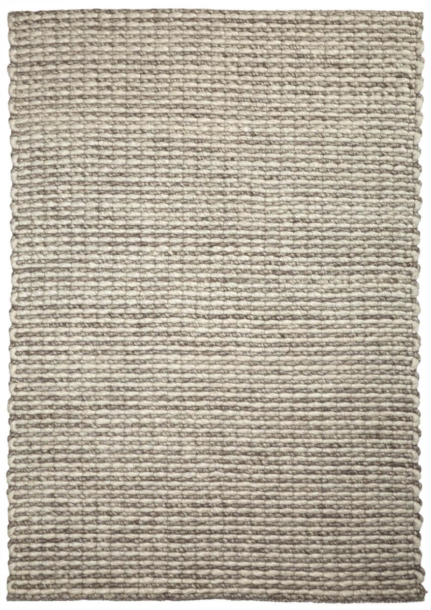 Oak (Ivory) modern wool rug