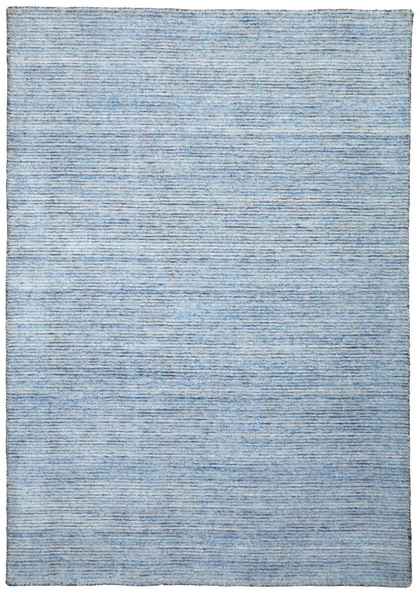 SkyBlue modern wool rug