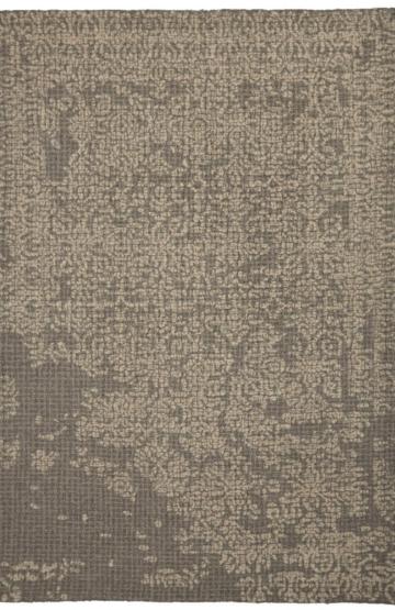Greyish Moss Modern wool rug