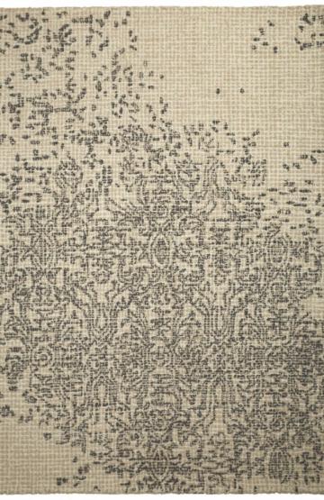 Beige modern wool rug