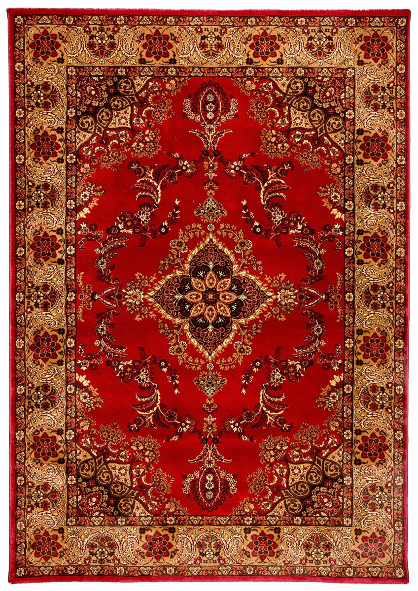 Majesty 443 Red Traditional Rug Ghadamian Rugs
