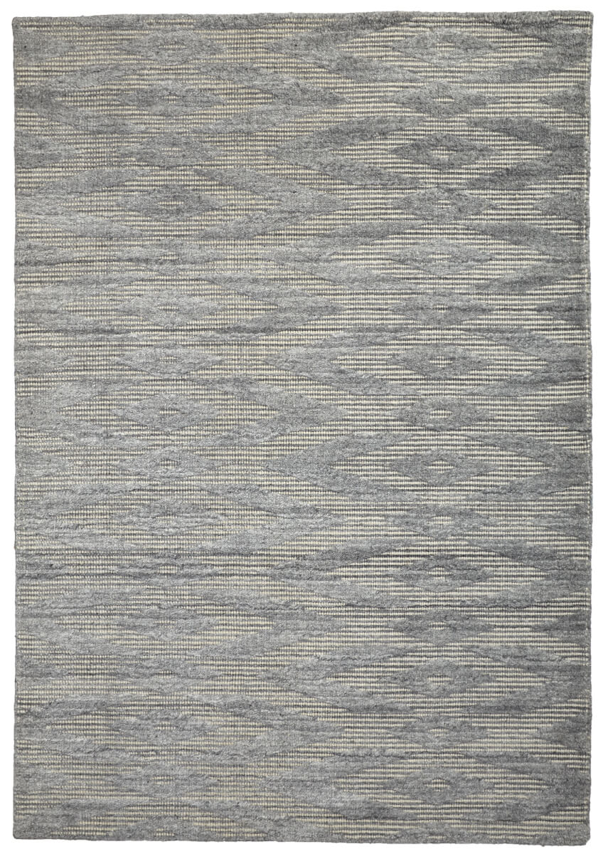 Oyster (Grey) Modern Wool Rug