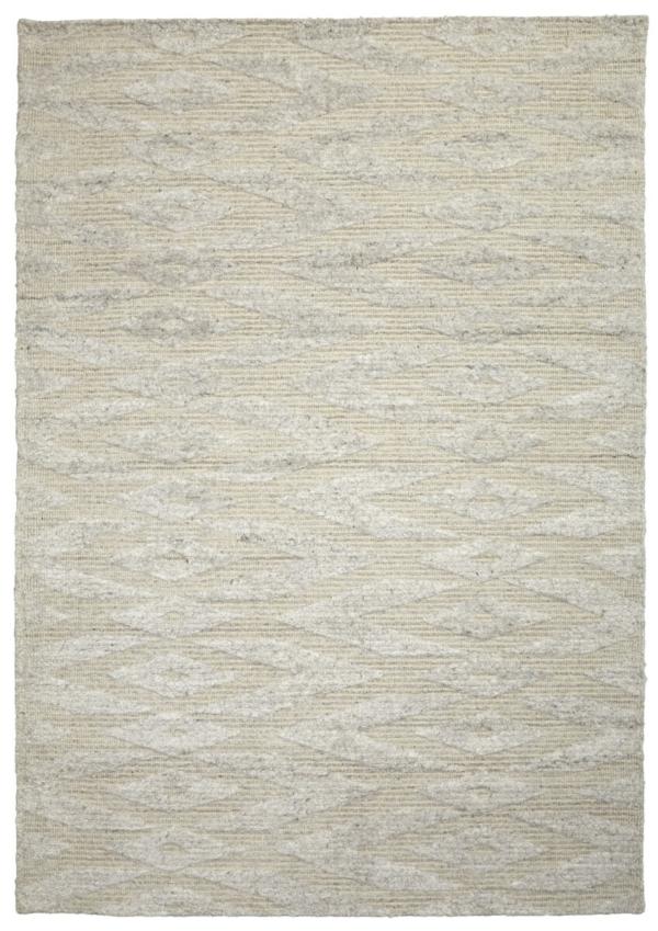 Snow (Ivory) Modern wool Rug