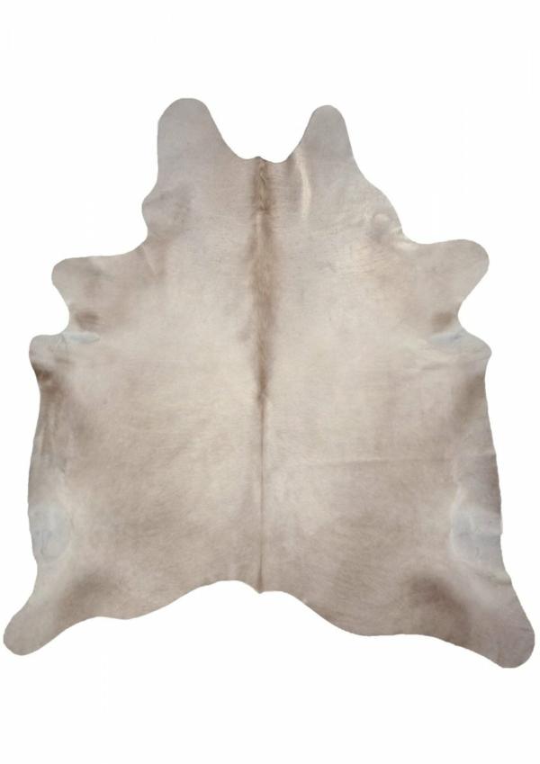 Champagne modern cowhide rug