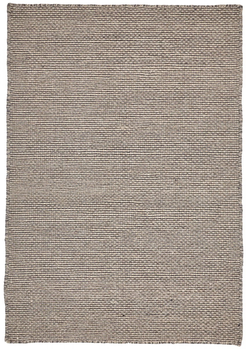 Grey modern wool rug