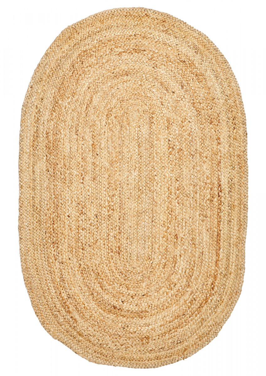 Natural Jute Oval rug