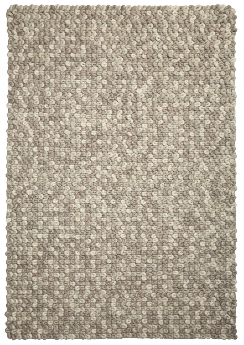 Latte (Cream) Modern Wool Rug