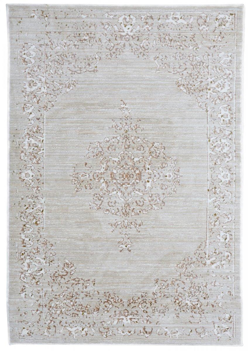Grey-Beige tractional rug