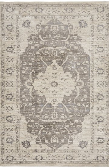 Grey transitional rug