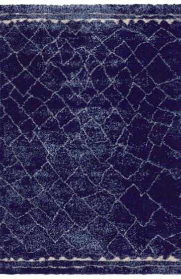 Dark Blue modern rug