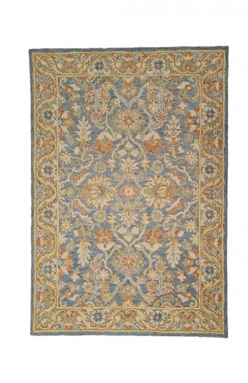 Traditional Persian Design Rug Heritage 125 Blue