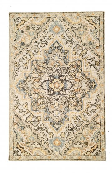Traditional Persian Pattern Heritage 330 Grey